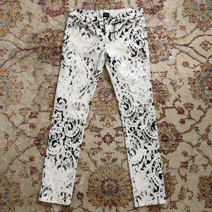Alexander McQueen Print Jeans
